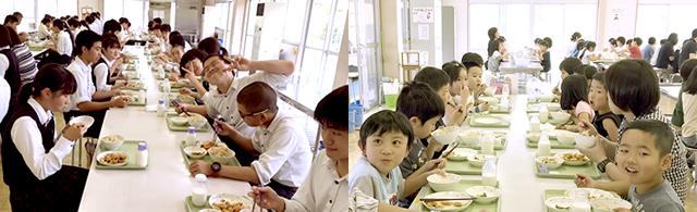 学園給食1