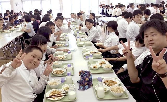 学園給食4