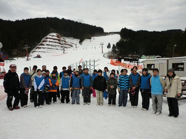 6年スキー研修(1月27日)