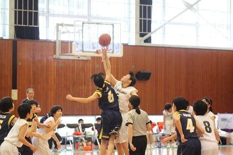 平成29年度中央支部 女子バスケットボール部優勝
