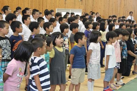 梼原学園に東京交響楽団が来て、演奏してくれました!