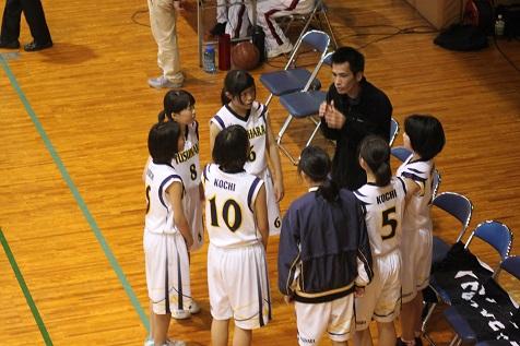 2017年度 高知県中学校バスケットボール大会新人大会行われる。