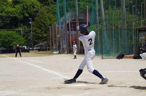 第21回須崎市招待中学校野球大会初戦敗退
