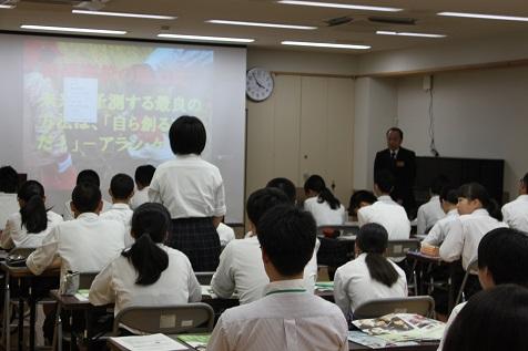 高校説明会の2回目が行われました。
