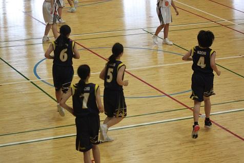 高岡地区大会バスケットボールの部女子3位、男子2勝!!