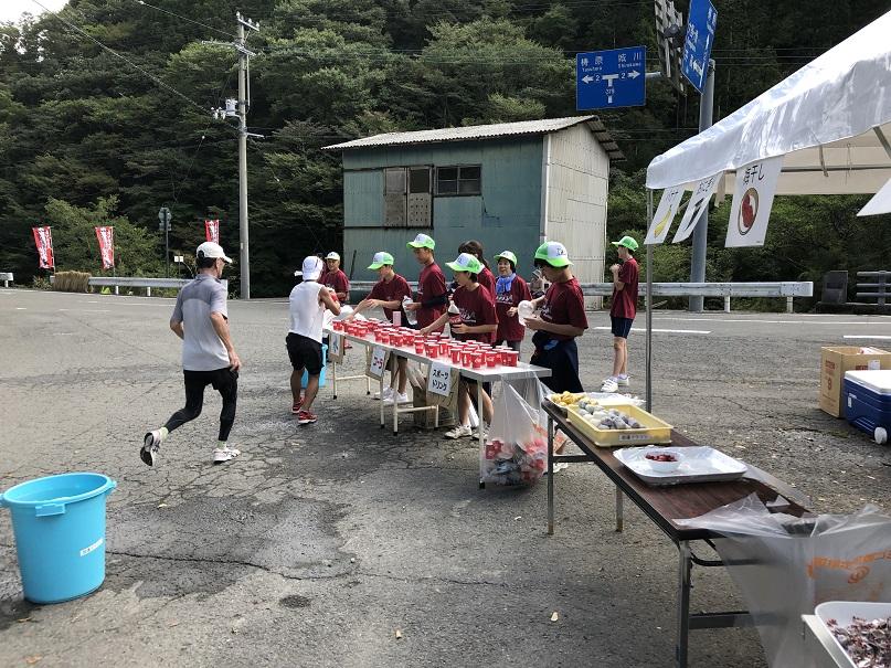 脱藩マラソンのボランティアに参加しました!!