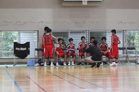 高吾地区中学校バスケットボール球技選手権大会男子3位
