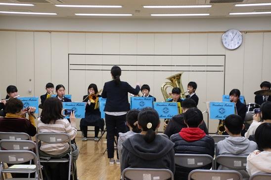 梼原学園音楽部定期演奏会を開催しました。
