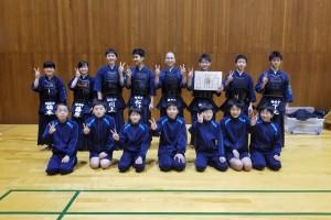 剣道部 9年生 最後の県体に向けて…